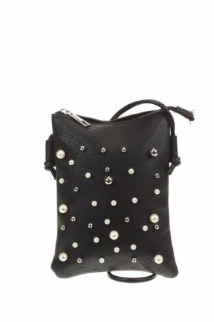 Дамска чанта, Цвят Черен, Еко кожа, Цена 28,35лв.