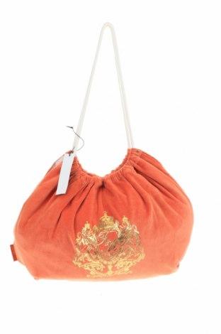Дамска чанта, Цвят Оранжев, Текстил, Цена 39,90лв.