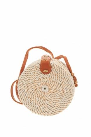 Дамска чанта, Цвят Бежов, Други материали, еко кожа, Цена 32,92лв.