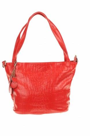 Dámská kabelka , Barva Červená, Pravá kůže, Cena  847,00Kč