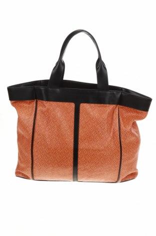 Дамска чанта & Other Stories, Цвят Оранжев, Текстил, естествена кожа, Цена 66,00лв.