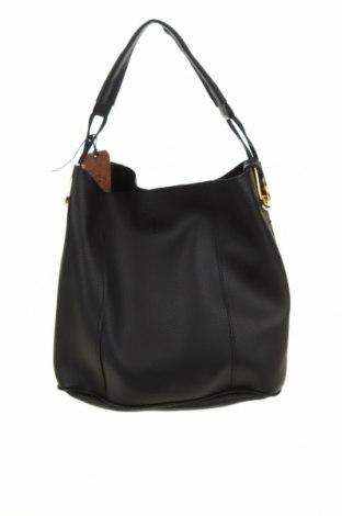 Γυναικεία τσάντα Beverly Hills Polo Club, Χρώμα Μαύρο, Δερματίνη, Τιμή 24,13€