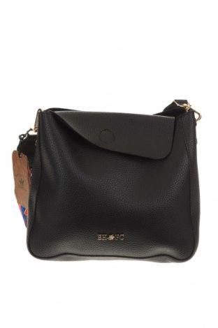 Γυναικεία τσάντα Beverly Hills Polo Club, Χρώμα Μαύρο, Δερματίνη, Τιμή 25,97€