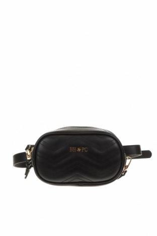 Γυναικεία τσάντα Beverly Hills Polo Club, Χρώμα Μαύρο, Δερματίνη, Τιμή 21,08€