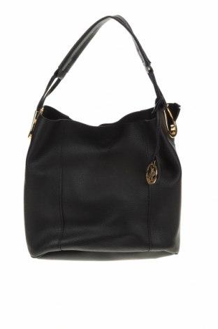 Γυναικεία τσάντα Beverly Hills Polo Club, Χρώμα Μαύρο, Δερματίνη, Τιμή 31,61€