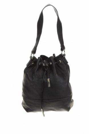 Γυναικεία τσάντα Charlotte Russe, Χρώμα Μαύρο, Δερματίνη, Τιμή 19,32€