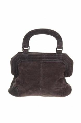 Дамска чанта Comptoir Des Cotonniers, Цвят Син, Естествен велур, Цена 66,24лв.