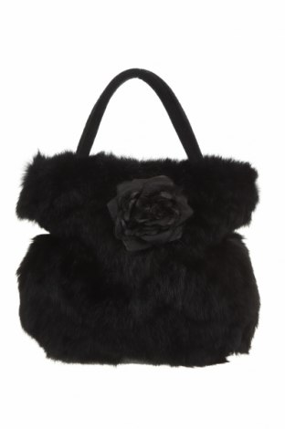 Дамска чанта Danier, Цвят Черен, Естествен косъм, Цена 30,87лв.