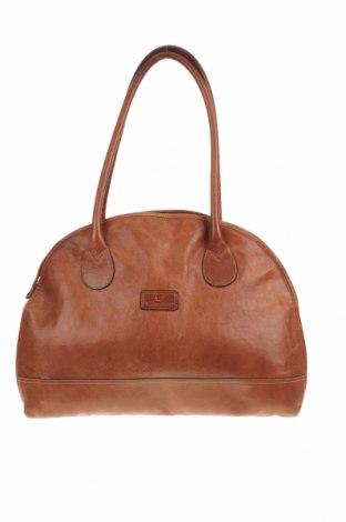 Дамска чанта Etienne Aigner, Цвят Кафяв, Естествена кожа, Цена 140,40лв.