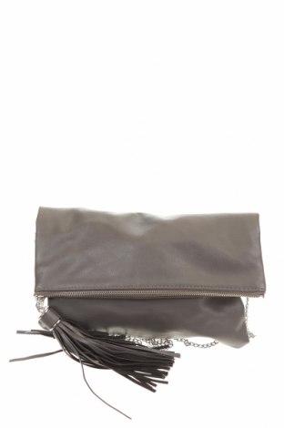 Дамска чанта H&M, Цвят Сив, Еко кожа, Цена 20,88лв.