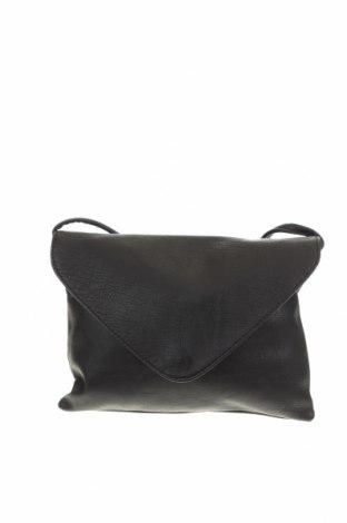 Дамска чанта H&M Divided, Цвят Черен, Еко кожа, Цена 27,30лв.