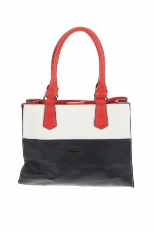 Дамска чанта Laura Jones, Цвят Многоцветен, Еко кожа, Цена 28,35лв.