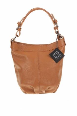 Γυναικεία τσάντα Lucca Baldi, Χρώμα Καφέ, Γνήσιο δέρμα, Τιμή 104,34€