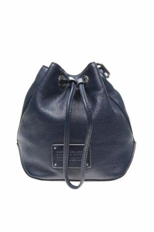 Дамска чанта Marc By Marc Jacobs, Цвят Син, Естествена кожа, Цена 203,45лв.