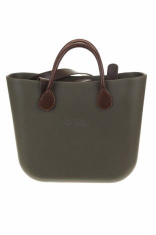 Дамска чанта O bag, Цвят Зелен, Полиуретан, Цена 101,47лв.