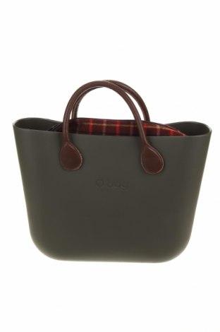 Дамска чанта O bag, Цвят Зелен, Полиуретан, Цена 103,66лв.