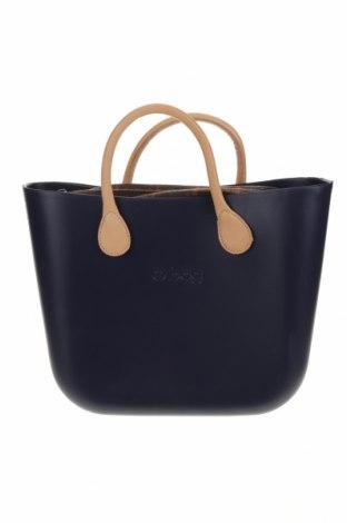 Дамска чанта O bag, Цвят Син, Полиуретан, Цена 103,66лв.