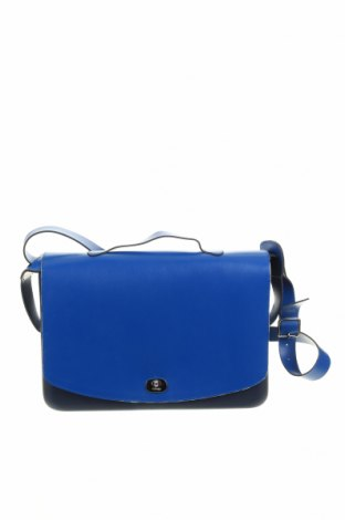 Дамска чанта O bag, Цвят Син, Еко кожа, полиуретан, Цена 101,47лв.