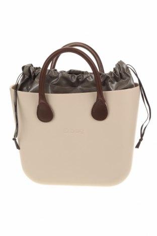 Дамска чанта O bag, Цвят Бежов, Полиуретан, Цена 97,30лв.