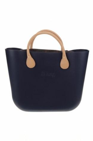 Дамска чанта O bag, Цвят Син, Полиуретан, Цена 108,77лв.