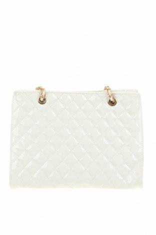 Дамска чанта SHEIN, Цвят Бял, Еко кожа, Цена 28,35лв.