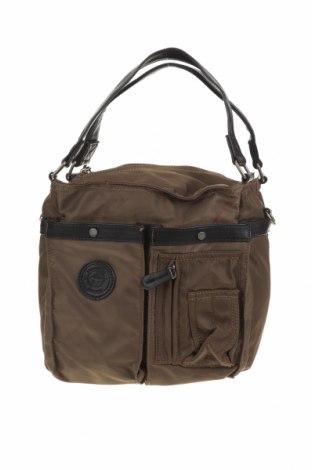 Дамска чанта Tamaris, Цвят Кафяв, Текстил, еко кожа, Цена 20,58лв.