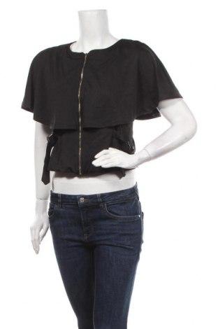 Дамска жилетка, Размер L, Цвят Черен, Цена 6,83лв.