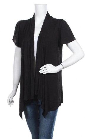 Дамска жилетка, Размер XL, Цвят Черен, 95% вискоза, 5% еластан, Цена 17,96лв.