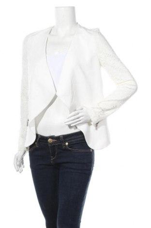 Дамска жилетка, Размер M, Цвят Бял, 95% полиестер, 5% еластан, Цена 11,55лв.