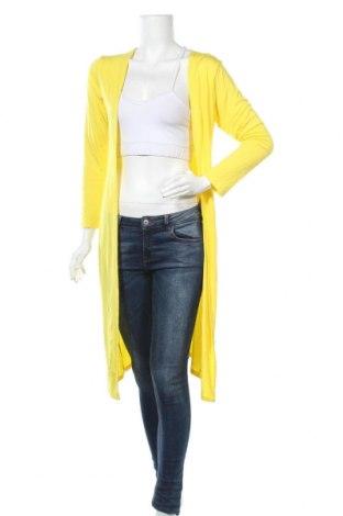 Дамска жилетка, Размер M, Цвят Жълт, 95% вискоза, 5% еластан, Цена 13,70лв.