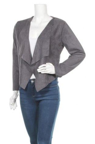 Дамска жилетка, Размер M, Цвят Сив, 65% памук, 35% полиестер, Цена 12,29лв.