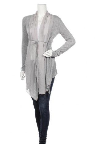Дамска жилетка, Размер XL, Цвят Сив, Тенсел, коприна, Цена 6,83лв.