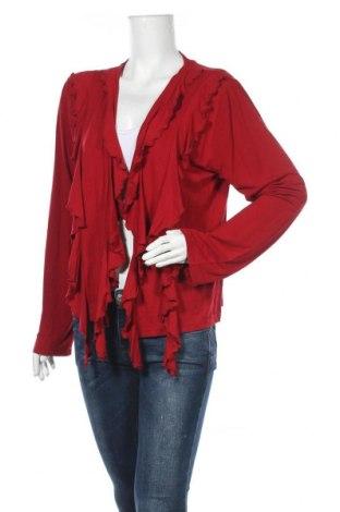 Дамска жилетка, Размер XL, Цвят Червен, 92% вискоза, 8% еластан, Цена 10,40лв.
