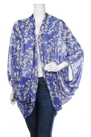 Γυναικεία ζακέτα Ally, Μέγεθος L, Χρώμα Μπλέ, Πολυεστέρας, Τιμή 10,13€