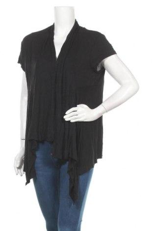 Γυναικεία ζακέτα Ambiance Apparel, Μέγεθος XXL, Χρώμα Μαύρο, Βισκόζη, Τιμή 15,43€