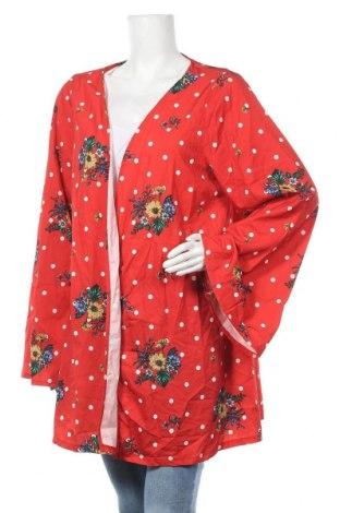 Дамска жилетка Boohoo, Размер XXL, Цвят Червен, Полиестер, Цена 11,55лв.
