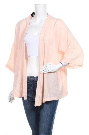 Дамска жилетка Boohoo, Размер XL, Цвят Розов, 95% полиестер, 5% еластан, Цена 33,92лв.