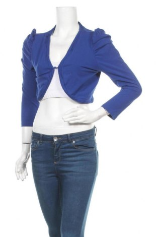 Дамска жилетка Broadway, Размер XL, Цвят Син, 95% памук, 5% еластан, Цена 7,25лв.