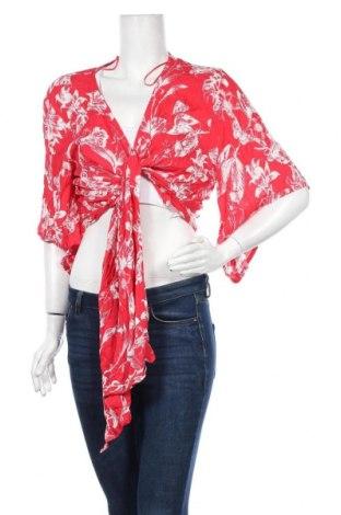 Γυναικεία ζακέτα Dotti, Μέγεθος XL, Χρώμα Κόκκινο, Βισκόζη, Τιμή 13,58€