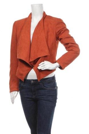 Дамска жилетка Edc By Esprit, Размер M, Цвят Червен, Полиестер, Цена 7,72лв.