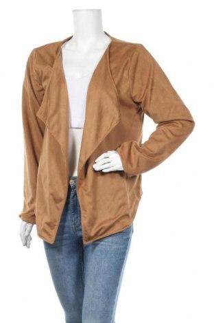 Дамска жилетка Gina, Размер XL, Цвят Кафяв, Полиестер, Цена 22,94лв.