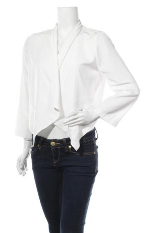 Дамска жилетка Gina Tricot, Размер S, Цвят Бял, Цена 13,13лв.