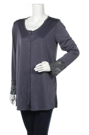 Дамска жилетка H&M Mama, Размер L, Цвят Сив, Полиестер, Цена 10,92лв.