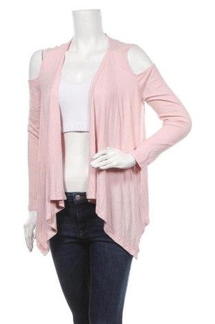 Дамска жилетка Kitschen, Размер XL, Цвят Розов, 95% вискоза, 5% еластан, Цена 5,29лв.