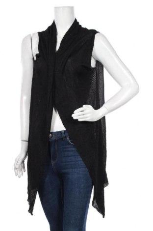 Дамска жилетка Lilia, Размер XL, Цвят Черен, 85% вискоза, 15% полиамид, Цена 6,28лв.