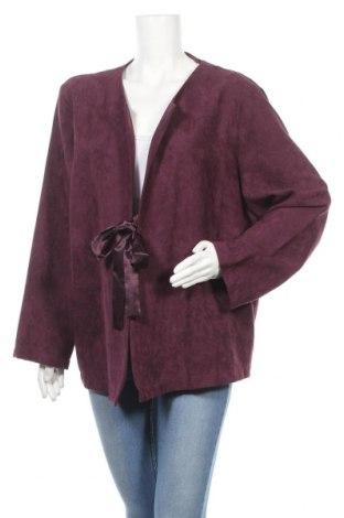 Γυναικεία ζακέτα Malva, Μέγεθος XL, Χρώμα Βιολετί, Πολυεστέρας, Τιμή 12,15€