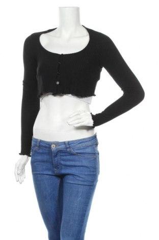 Дамска жилетка New Look, Размер S, Цвят Черен, 97% полиестер, 3% еластан, Цена 40,50лв.