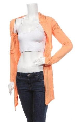 Дамска жилетка Shana, Размер L, Цвят Оранжев, Вискоза, Цена 5,67лв.