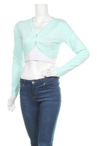 Γυναικεία ζακέτα Staccato, Μέγεθος L, Χρώμα Πράσινο, Βαμβάκι, Τιμή 13,45€