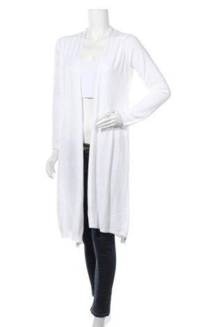 Γυναικεία ζακέτα Stefanel, Μέγεθος M, Χρώμα Λευκό, Βαμβάκι, μοντάλ, Τιμή 45,21€